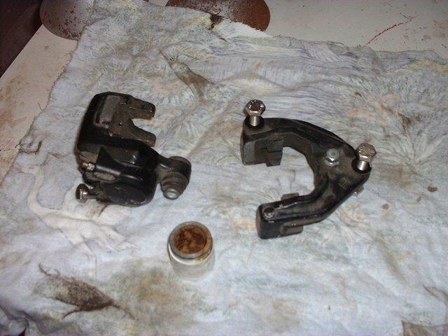 Zweite Bremsscheibe Bilder